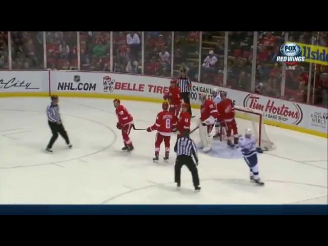 You Got Kronwalled Chant in Detroit After the big hit on Ryan Callahan