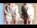 КАК СШИТЬ НИЖНЕЕ БЕЛЬЕ ♡ Панталончики ♡ ДЛЯ КУКОЛ ♡ Как сделать одежду для куклы ♡ FOR DOLLS