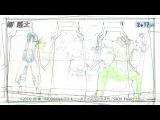 動く!原画セレクション! 「ソードアート・オンラインⅡ」オープニ&#12531