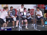 Yulia Medvedeva (Russia) at IPF Equipped Worlds, 585kg (222.5-160-202.5)@72kg