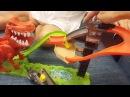 Машинки Хот Вилс Трек с Динозавром Hot Wheels T-REX
