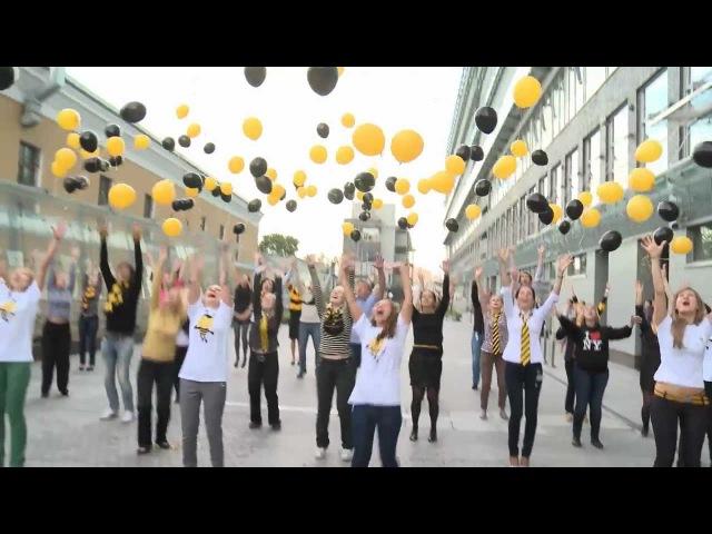 Танцевальный флеш-моб от сотрудников Компании