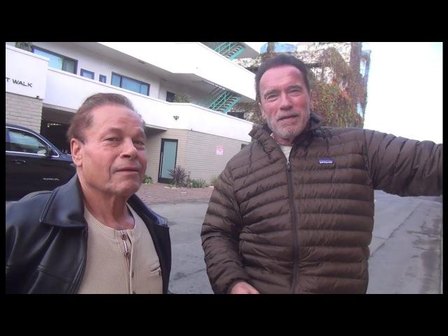 Арнольд Шварценеггер и Франко Коломбо - 51 год дружбы