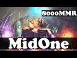 MidOne 8000 MMR Plays Invoker vol 7 - Ranked Match Gameplay - Dota 2
