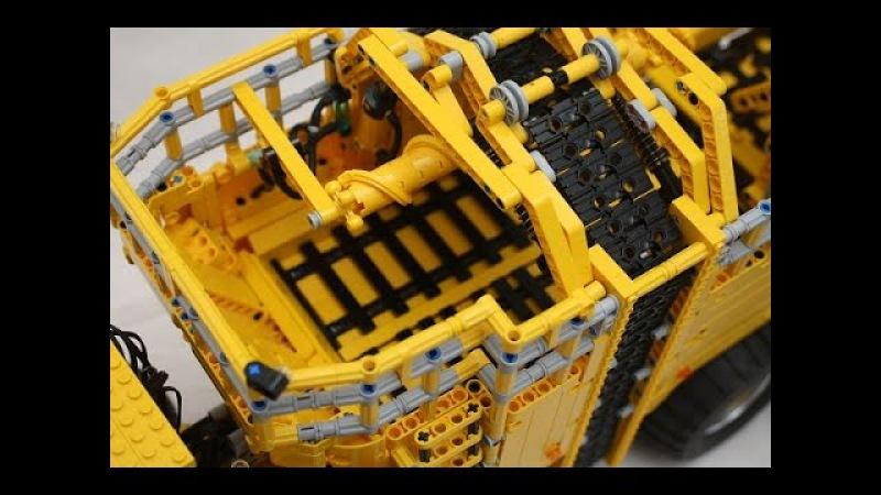 LEGO GBC Cardan Gear Loop by Josh David - Lego Great Ball Contraption