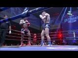 Просто отличниший бой Буакав Прамук против Энрико Кель тайский бокс