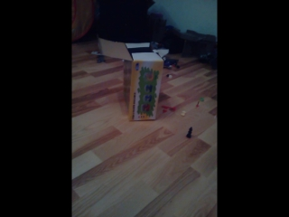 двигающиеся коробка