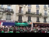 Позитивные ирландские болельщики в Париже ЕВРО 2016