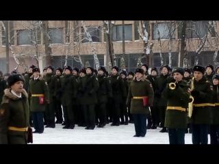 присяга 3.12.16 с.Зюзино. Семёновский полк