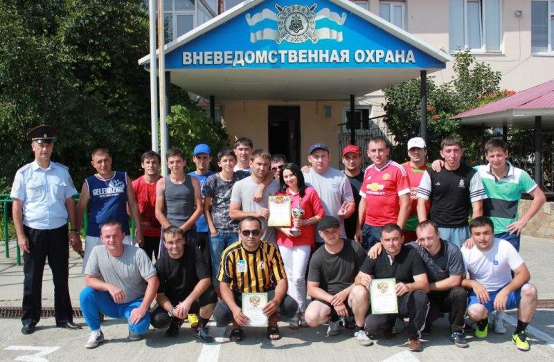 Зеленчукская команда вневедомственной охраны призер Чемпионата по мини - футболу