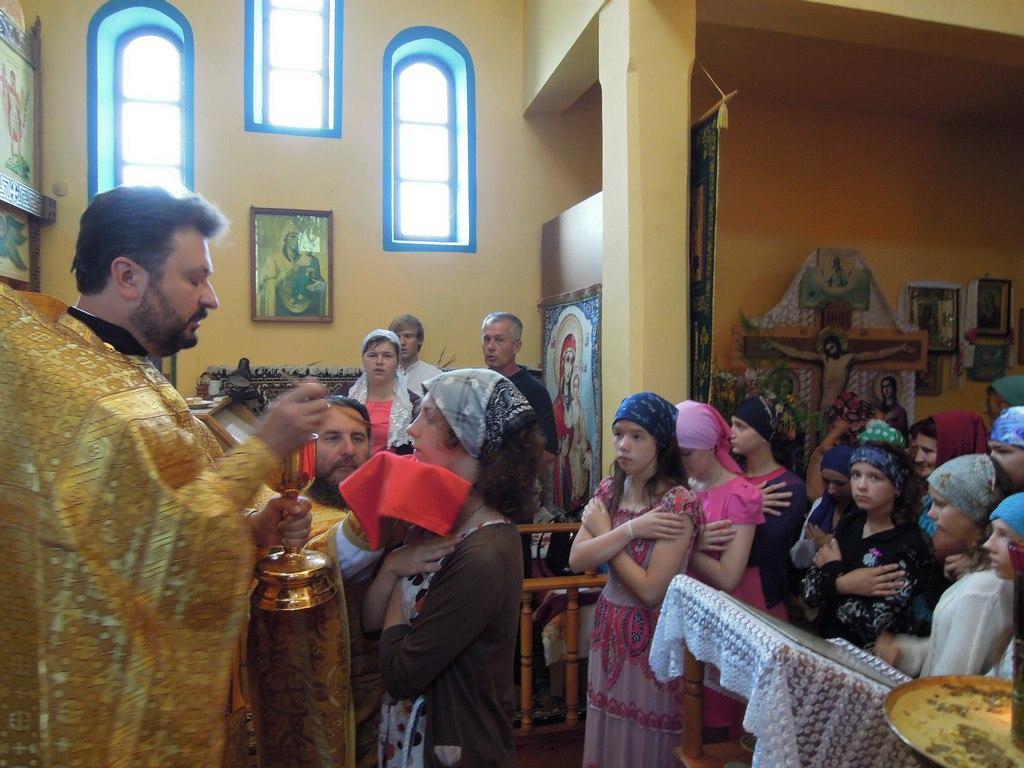 В Марухе молились за мир на Украине