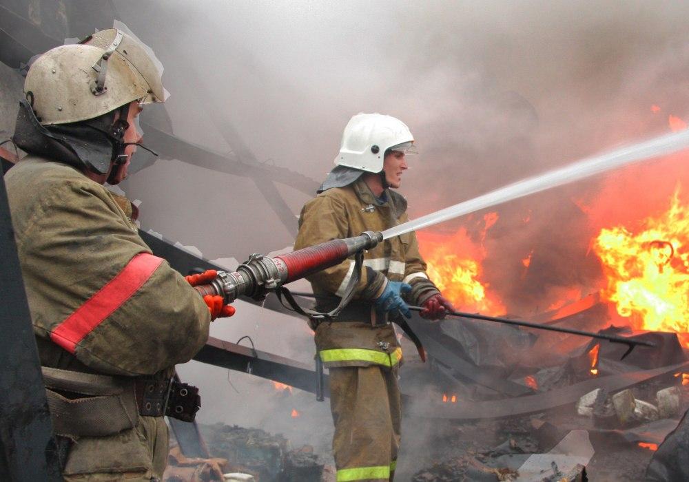 В Даусузе сгорела баня