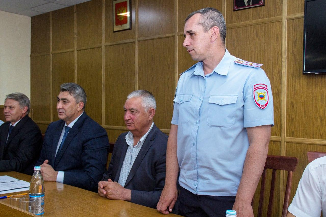 В Зеленчукском районе назначен новый начальник полиции