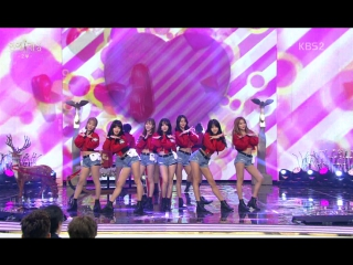 161224 Magic Perf. + AOA - Heart Attack & Good Luck (with Gag women) @ KBS Entertainment Awards  2016