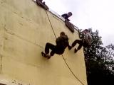 обычная тренировка в Школе Каскадёров !