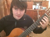 По горячим следам - Позиция левой руки при игре на гитаре