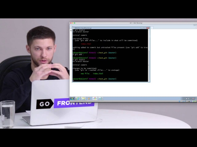 FE Online Tech Skills Markup Lesson 2 Part 2 GIT Базовые команды