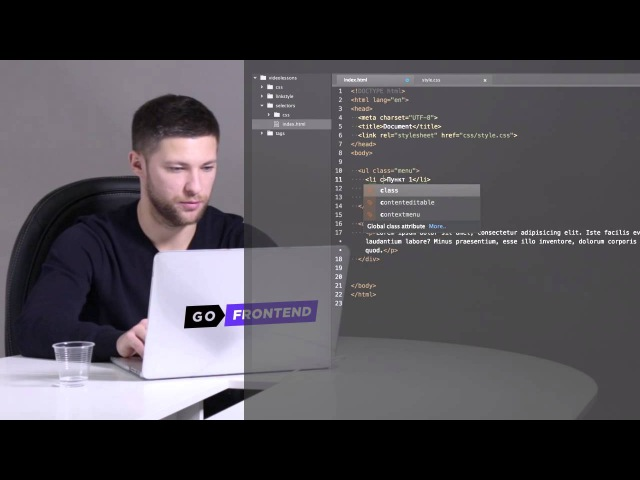 FE Online Tech Skills Markup Lesson 1 Part 6 Селекторы