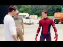 Spider Man Behind the Scenes from Captain America Civil War HD