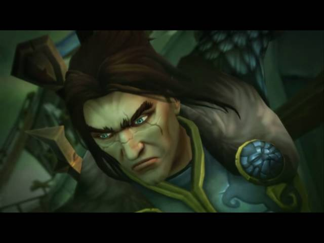 WoW Legion Cinematic | Смерть Вариана Ринна | Varian Wrynn Death Cinematic