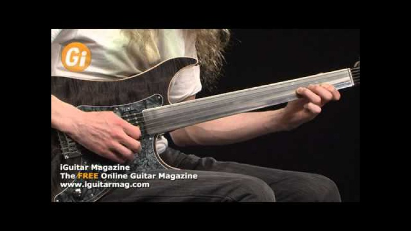 Vigier Excalibur Fretless Guitar Review With Guthrie Govan Guitar Interactive Magazine