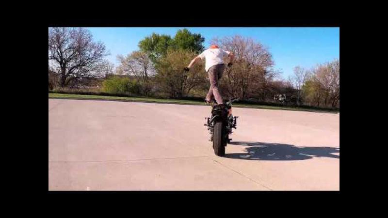 New Tricks Spring 2015 - Motorcycle Stunts - RJ Shrimpton