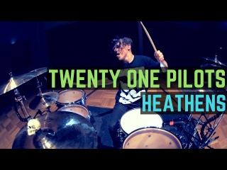 Twenty One Pilots - Heathens (Disto x BL Remix) - Drum Cover