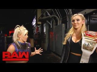 Dana Brooke apologizes to Charlotte: Raw, Sept. 12, 2016