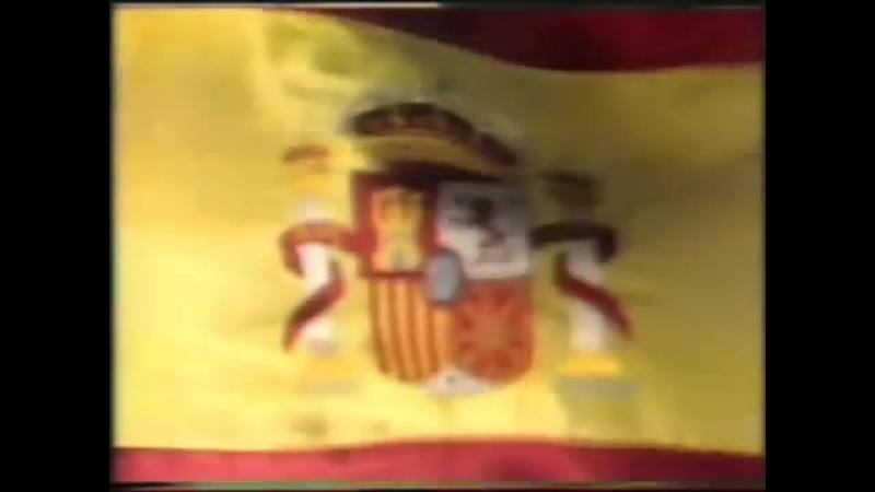 Программа передач и конец эфира (TVE1 [Испания], 26.06.1990)
