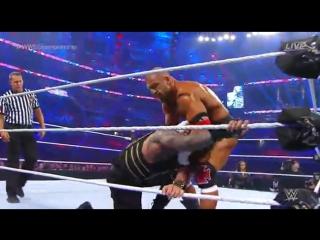 Roman Reigns vs WWE World Heavyweight Champion Triple H (Wrestlemania 32)