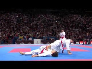Karate Japan vs Italy. Final Female Team Kata. WKF World Karate Championships 2012