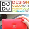 Цветные кожаные кошельки DuDu, Италия