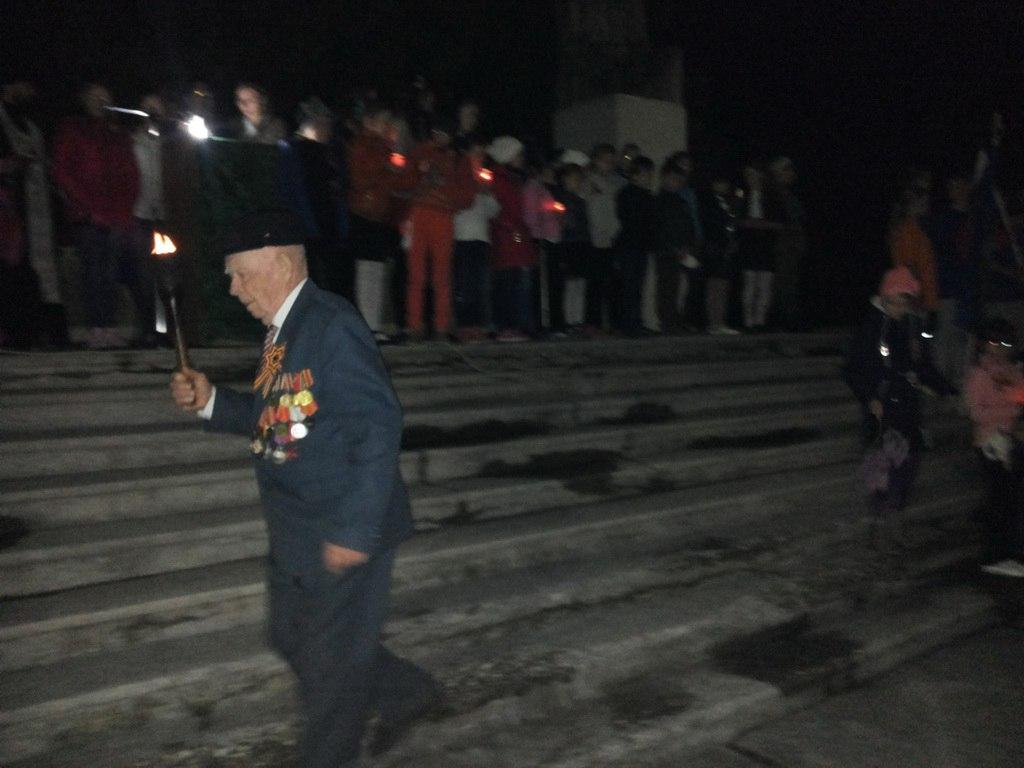 В станице Исправной «Зажгли свечи в память павших»
