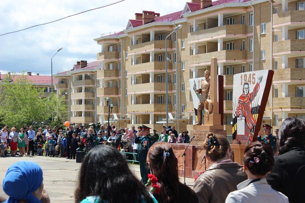 В станице Сторожевая-2 прошел митинг посвященный празднованию 71-й годовщины Победы в Великой Отечественной войне