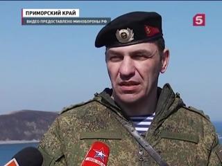 В Приморском крае прошли масштабные учения морской пехоты