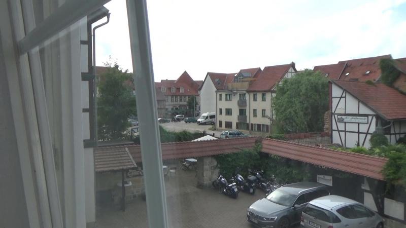 Германия часть 34 Приехали в Halberstadt заселились в Отель и Знакомимся со Старым Городом