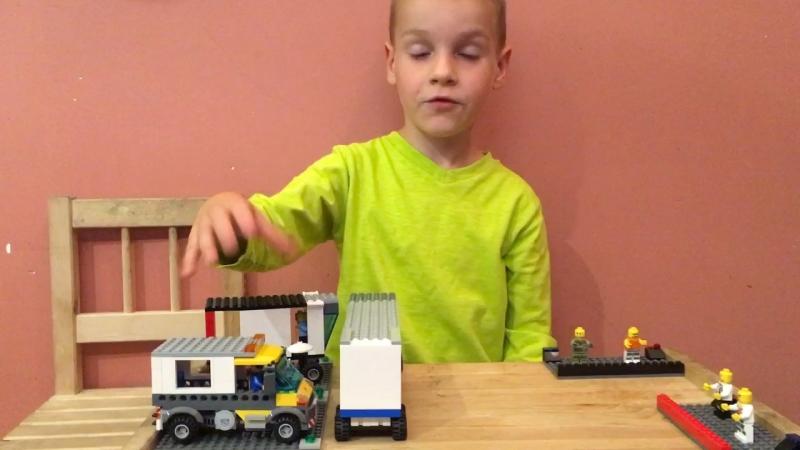 Лего - Тимофей жжет