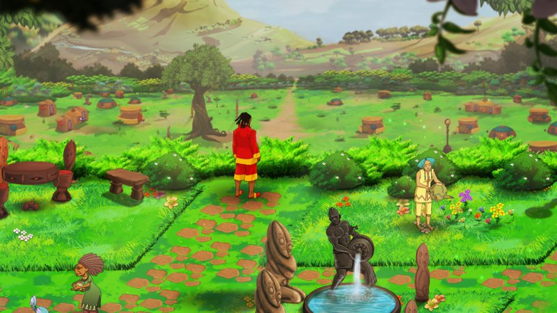 Aurion: Legacy of the Kori-Odan (2016) PC - Скриншот 1