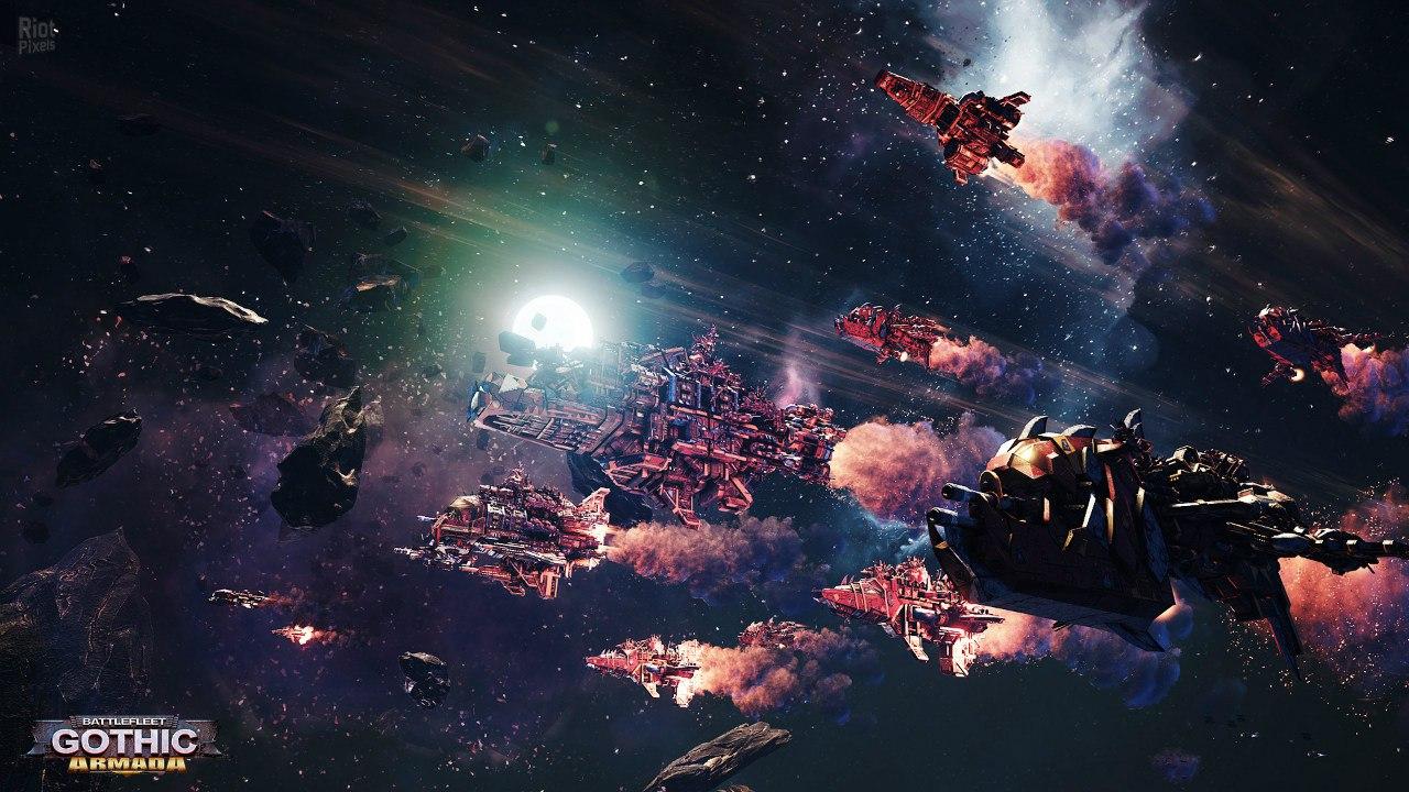 Battlefleet Gothic: Armada (2016) PC | Repack от FitGirl - Скриншот 2