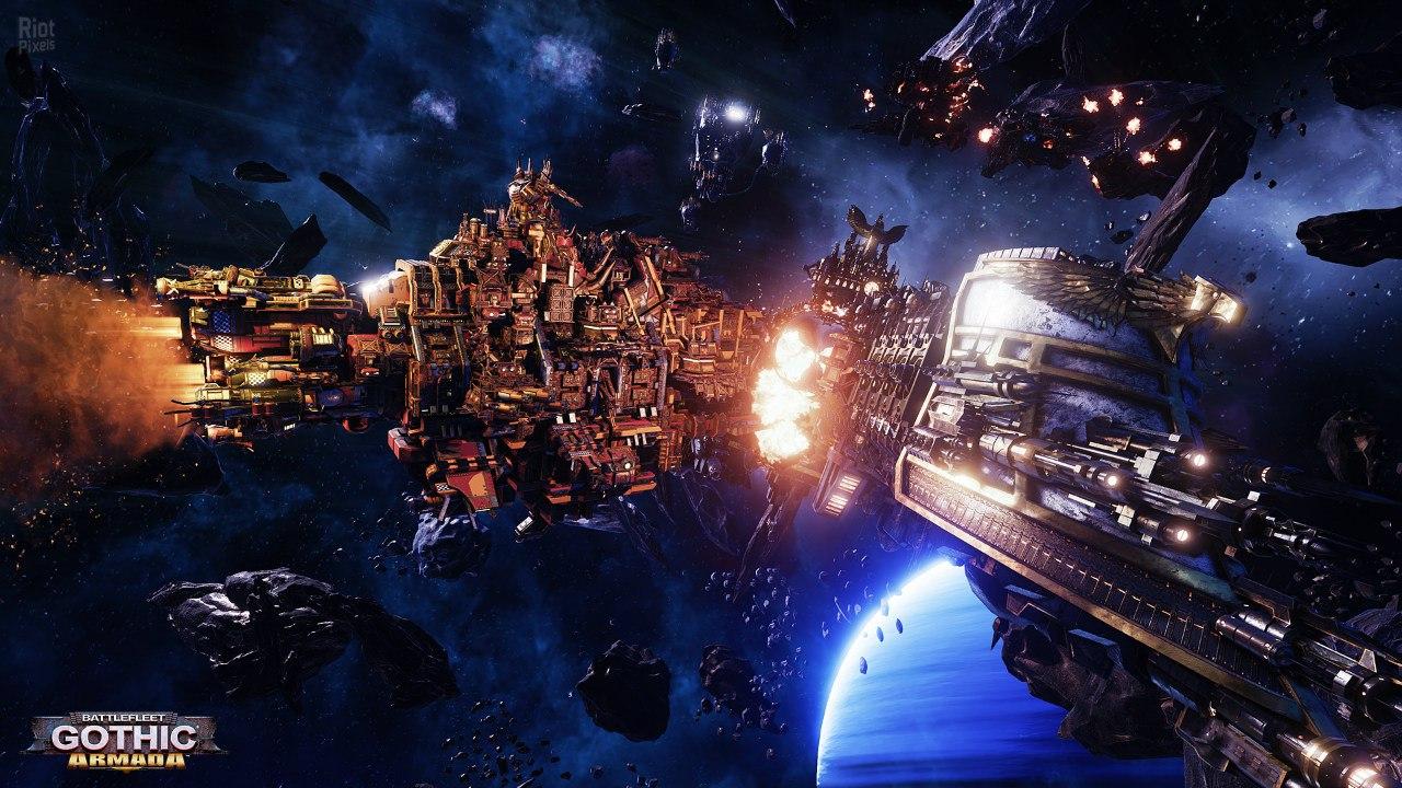 Battlefleet Gothic: Armada (2016) PC | Repack от FitGirl - Скриншот 1