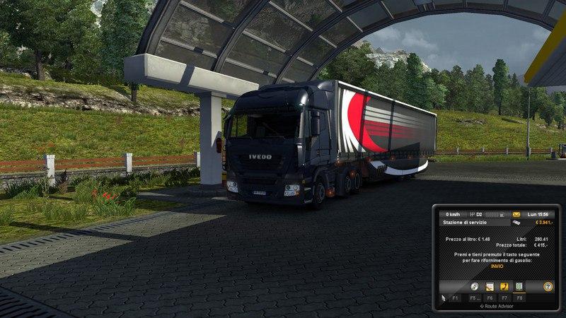 Euro Truck Simulator 2 [v 1.26.7s + 52 DLC] (2013) PC | RePack by =nemos= - Скриншот 2