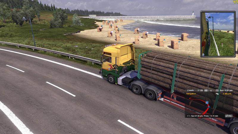 Euro Truck Simulator 2 [v 1.26.7s + 52 DLC] (2013) PC | RePack by =nemos= - Скриншот 3