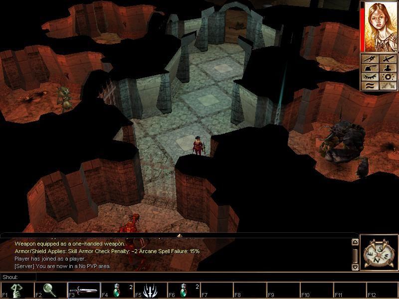 Neverwinter Nights: Diamond Edition (2005) PC | Repack от R.G. Catalyst - Скриншот 1