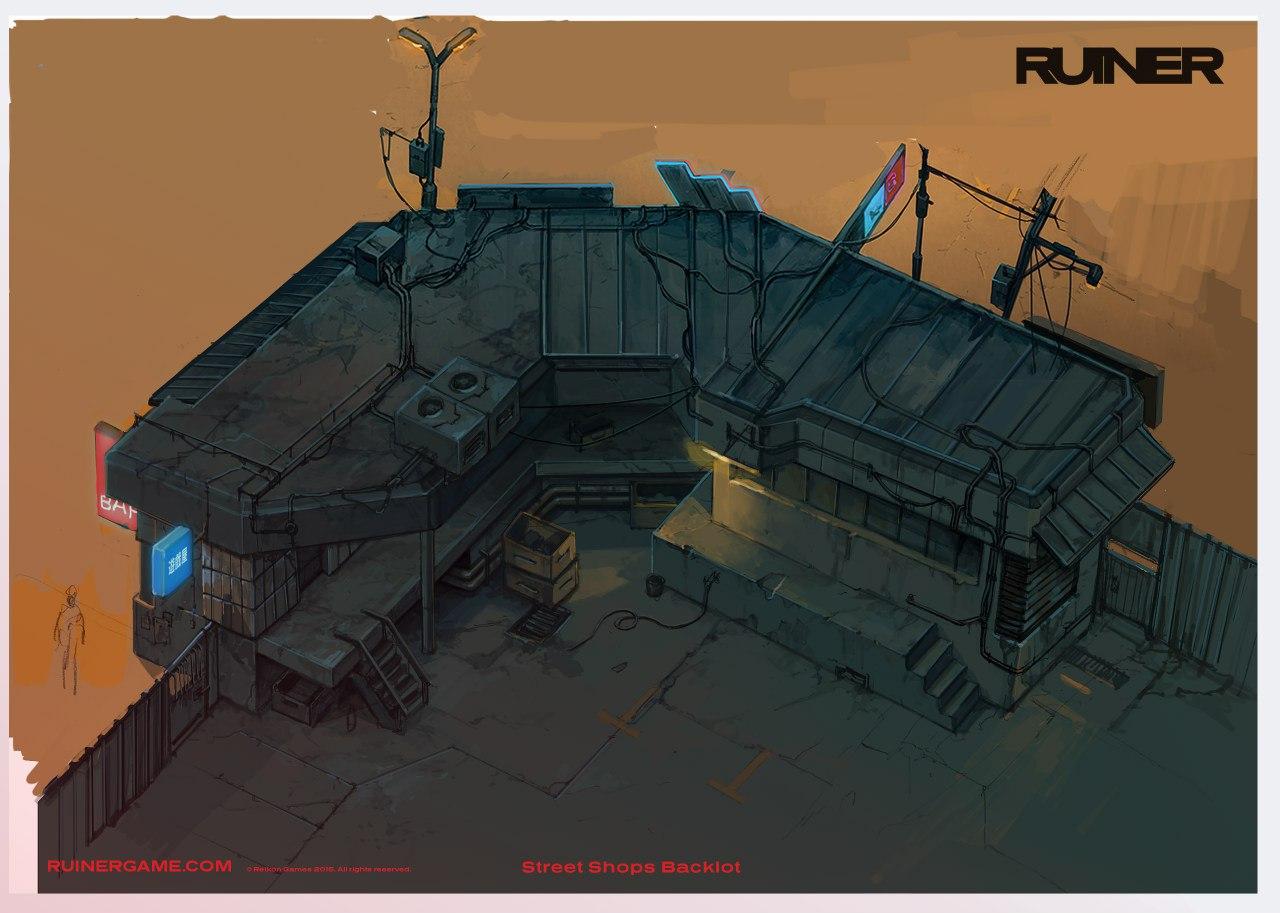 Ruiner (2016) PC - Скриншот 3
