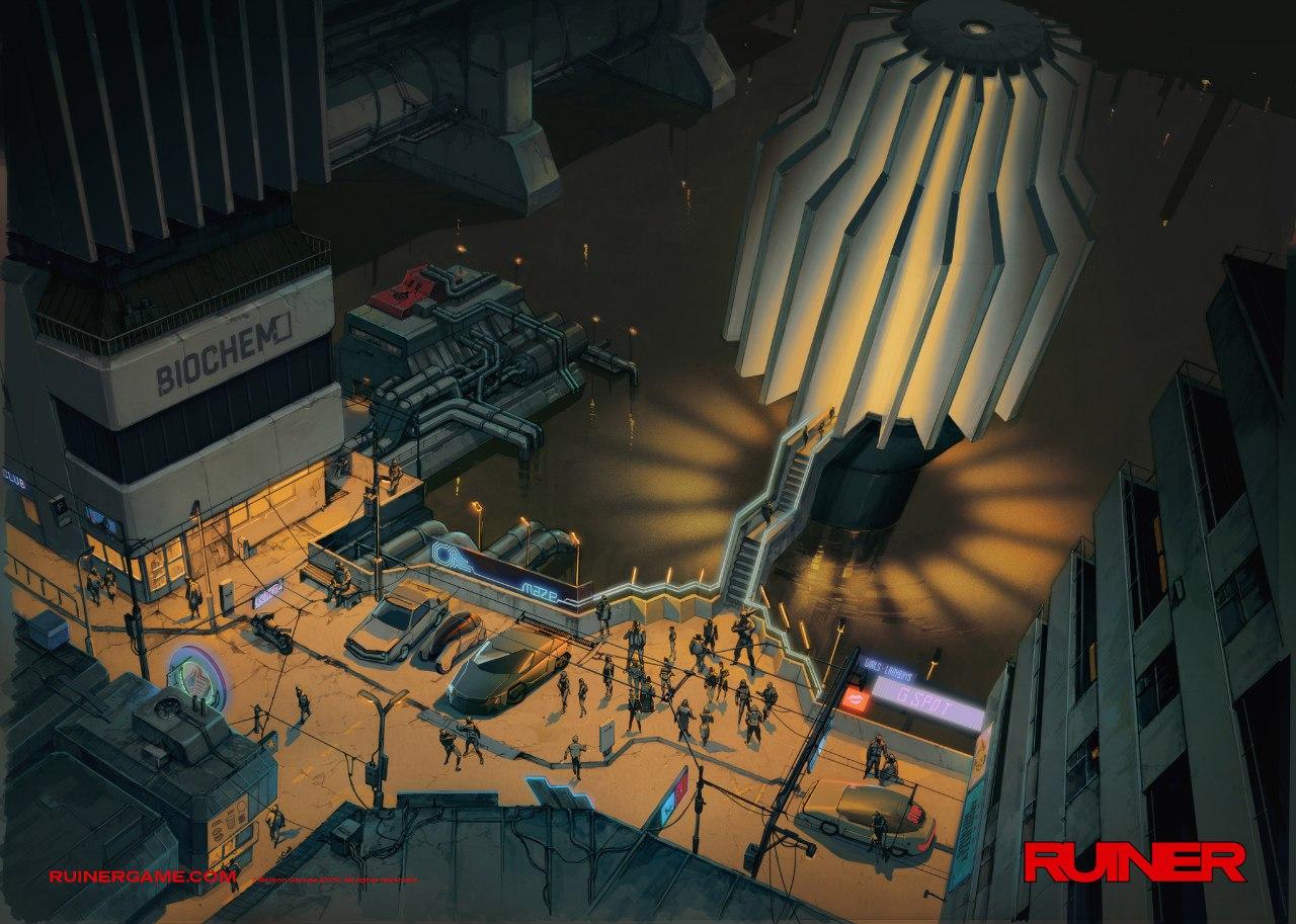 Ruiner (2016) PC - Скриншот 2