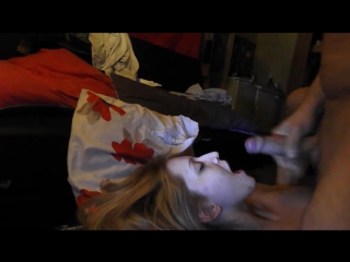 Dont waste your cum...finish in my mouth! 720p