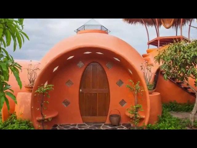 Air crete dome homes