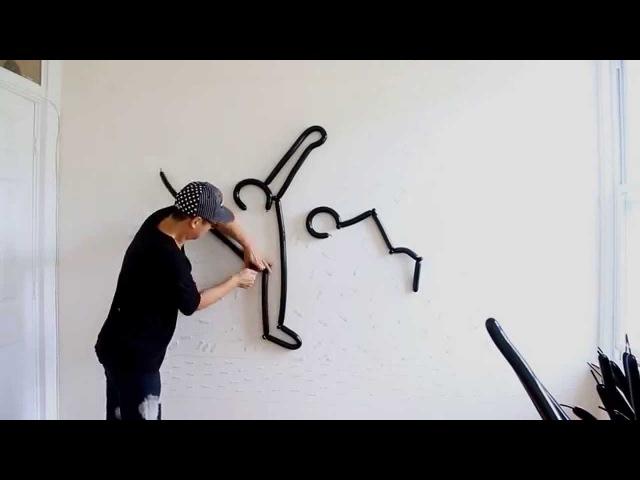GarageMag.com - Pop ART: Keith HARING by Robert MOY (2014)