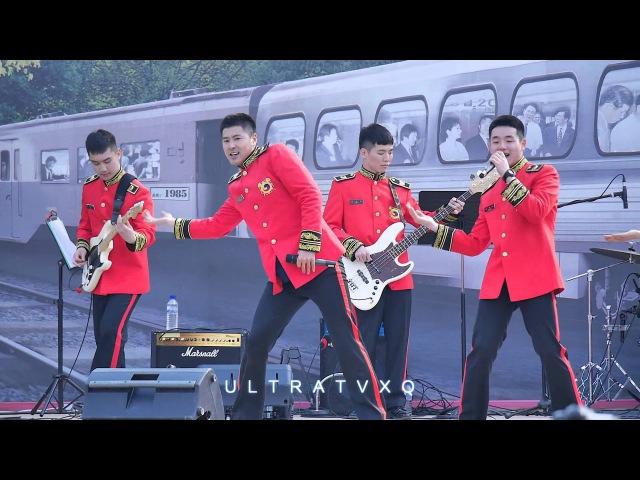 160402 유노윤호 26사단 불무리신기 조명박물관 생기발랄 봄나눔 야외콘서트 - show