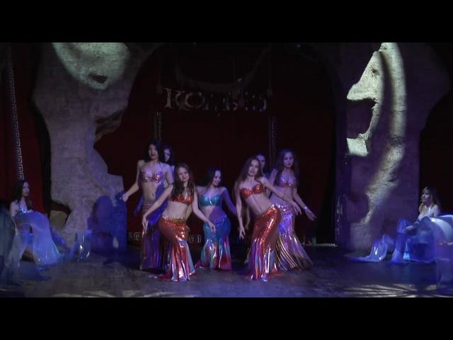 Группа Восток. Танец Тайна морских глубин.Отчетный концерт 2016.Огни Уфы Колизео.space_dance-ufa